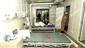 Một bệnh viện dã chiến tại Trung Quốc. Ảnh: Womenofchina.cn