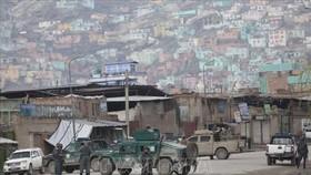 Lực lượng an ninh Afghanistan phong tỏa khu vực đền thờ đạo Sikh-Hindu ở thủ đô Kabul, nơi xảy ra vụ tấn công ngày 25-3-2020. Ảnh: AP/TTXVN