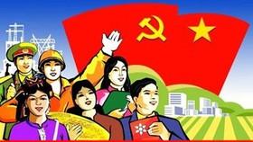 Thi sáng tác tranh cổ động chào mừng Đại hội Đảng các cấp