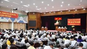 Lịch tiếp xúc cử tri trước Kỳ họp thứ 9 - Quốc hội khóa XIV