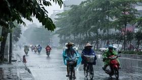 Miền Nam mưa dông tập trung vào chiều và tối