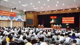 Lịch tiếp xúc cử tri trước kỳ họp thứ 20 Hội đồng Nhân dân TPHCM khóa IX (đợt 1)