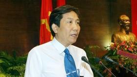 Thứ trưởng Bộ Nội vụ Trần Anh Tuấn phát biểu tại buổi tọa đàm. Ảnh: Phạm Kiên/TTXVN