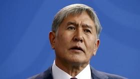Cựu Tổng thống Kyrgyzstan Almazbek Atambayev. Ảnh: AP