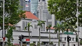 Tòa nhà Quốc hội Singapore tại thủ đô Singapore. Ảnh: AFP/TTXVN