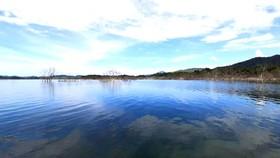Một góc hồ chứa nước Ngàn Trươi