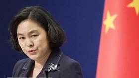 Người phát ngôn Bộ Ngoại giao Trung Quốc Hoa Xuân Oánh. Nguồn: Kyodo/TTXVN