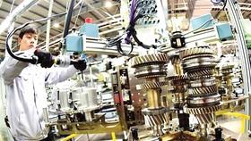 Một nhà máy sản xuất phụ tùng ô tô ở Trung Quốc. Ảnh: China Times
