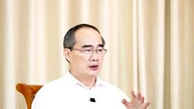 Bí thư Thành ủy TPHCM Nguyễn Thiện Nhân. Ảnh: QUANG PHÚC