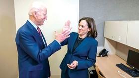 Liên danh của đảng Dân chủ tranh cử Tổng thống Mỹ Joe Biden - Kamala Harris. Ảnh: EPA