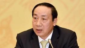 Ông Nguyễn Hồng Trường, cựu Thứ trưởng Bộ Giao thông Vận tải