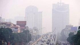 Chất lượng không khí ở Hà Nội giảm