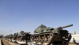 Thông tin trái chiều Thổ Nhĩ Kỳ điều xe tăng tới biên giới giáp với Hy Lạp