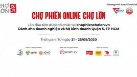 Tổ chức chợ phiên online hỗ trợ doanh nghiệp