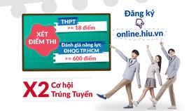 Đại học QT Hồng Bàng xét điểm thi THPT từ 18 và điểm đánh giá năng lực từ 600