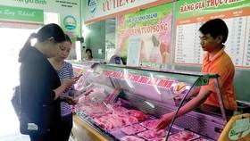 Điều chỉnh giá thịt heo bình ổn giảm 3,6%-8,9%