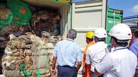 Sri Lanka trả lại Anh 21 container chất thải