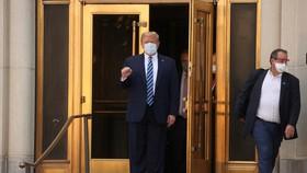 Tổng thống Mỹ Donald Trump đã trở lại Nhà Trắng. Ảnh: Reuters
