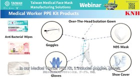 Các giải pháp sản xuất khẩu trang y tế của Đài Loan