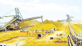 Các quặng sắt đang giúp ngân khố Australia hưởng lợi