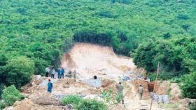 Khánh Hòa xử lý trường hợp xẻ núi phân lô bán nền