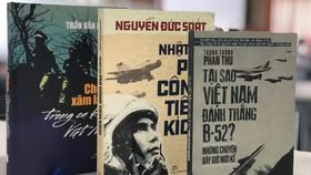 Một số đầu sách về người lính vừa được ra mắt