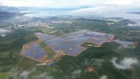 Dự án Nhà máy Điện mặt trời KN Vạn Ninh nhìn từ trên cao