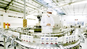 Sản phẩm sữa Việt Nam của Công ty Cổ phần sữa Việt Nam (Vinamilk) xuất khẩu ra nhiều thị trường khó tính trên thế giới