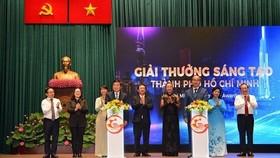 Hình ảnh giải thưởng Giải thưởng Sáng tạo TP.HCM lần thứ 1 năm 2019. Ảnh: doimoisangtao.vn