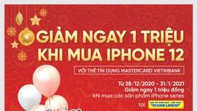 """Ưu đãi mịn săn """"táo"""" xịn cùng thẻ tín dụng quốc tế VietinBank Mastercard"""