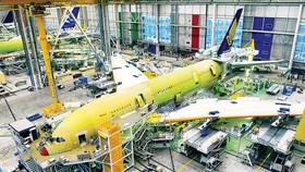 Nhà máy sản xuất máy bay Airbus tại Pháp