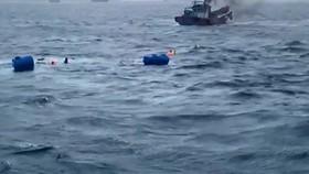 Chìm tàu, 7 ngư dân mất tích trên biển Côn Đảo