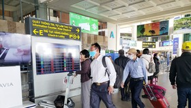 Sân bay Nội Bài có lượng khách tăng dần những ngày gần Tết Nguyên đán