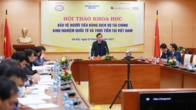 Phó Thống đốc NHNN Nguyễn Kim Anh phát biểu tại Hội thảo