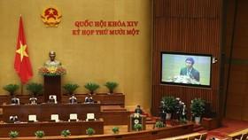 Tuần làm việc thứ 2, Kỳ họp thứ 11, Quốc hội khóa XIV: Bắt đầu xem xét, quyết định công tác nhân sự Nhà nước