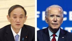 Mỹ-Nhật Bản đang thu xếp để Thủ tướng Suga Yoshihide và Tổng thống Joe Biden có cuộc gặp thượng đỉnh tại Washington vào ngày 9-4 tới. Ảnh: Getty Images