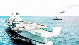 Tàu sân bay HMS Queen Elizabeth của Anh dự kiến sẽ tham gia hoạt động ngoại giao hải quân với một số nước và tiến hành tập trận ở Biển Đông