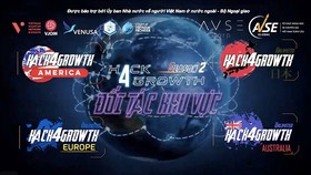 Hack4Growth được triển khai ở các khu vực Australia, Bắc Mỹ, châu Âu, Nhật Bản và Việt Nam