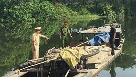 Hoạt động thăm dò, khai thác cát, sỏi trái phép ở Thừa Thiên-Huế
