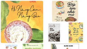 Một số ấn phẩm về ẩm thực Việt được ra mắt gần đây