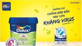 Dulux ra mắt dòng sơn kháng virus và vi khuẩn
