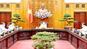 Thủ tướng Phạm Minh Chính phát biểu tại cuộc làm việc với Bộ Văn hóa, Thể thao và Du lịch, sáng 2-6. Ảnh: VIẾT CHUNG