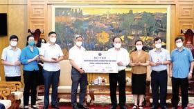 Tập đoàn Masan đồng hành cùng Bộ Y tế hỗ trợ nhân dân Bắc Giang chống dịch Covid-19