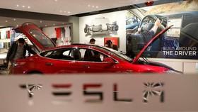 Một mẫu xe của Tesla. Ảnh: Reuters
