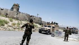 Quân chính phủ Afghanistan tại khu Guzara (tỉnh Herat). Ảnh: TheStar