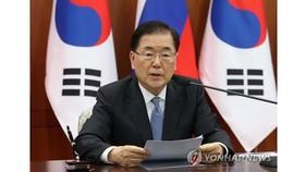 Ngoại trưởng Hàn Quốc Chung Eui-yong. Nguồn: Yonhap