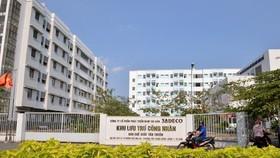 Khu lưu trú công nhân Khu chế xuất Tân Thuận. Ảnh: VIỆT DŨNG