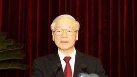 Tổng Bí thư Nguyễn Phú Trọng chủ trì và phát biểu khai mạc Hội nghị lần thứ 4 Ban Chấp hành Trung ương Đảng khoá XIII
