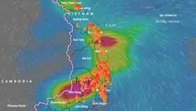 Cảnh báo lũ trên các sông ở Phú Yên, Khánh Hòa và khu vực Nam Tây Nguyên