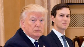 US President and his son in law